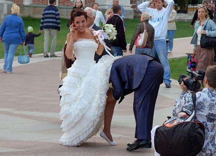 Забавные свадебные фотографии (100 фото)