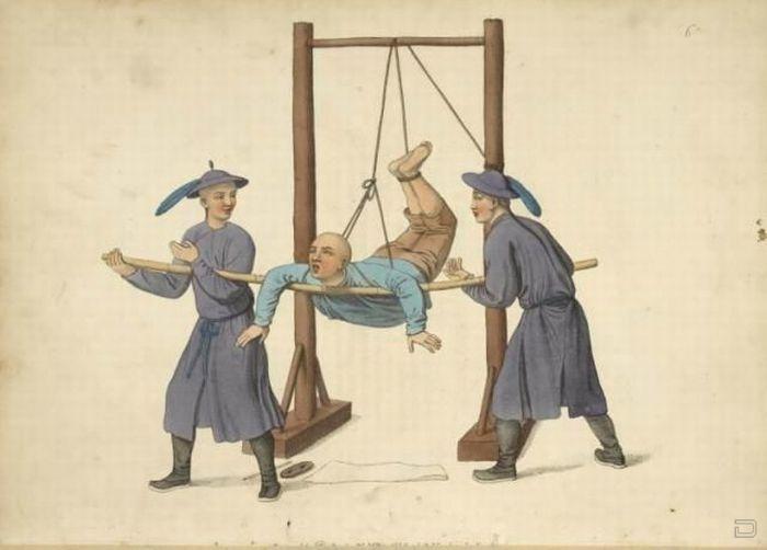 Почему в китае применялись жестокие наказания по отношению к провинившимся