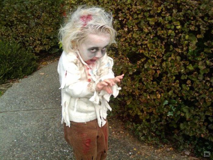 Дети-зомби (16 фото)