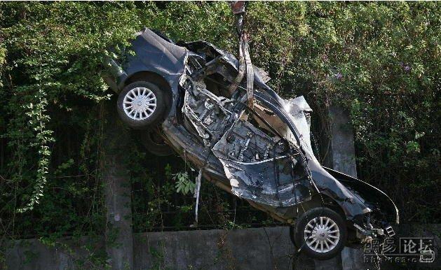 Жёсткая авария