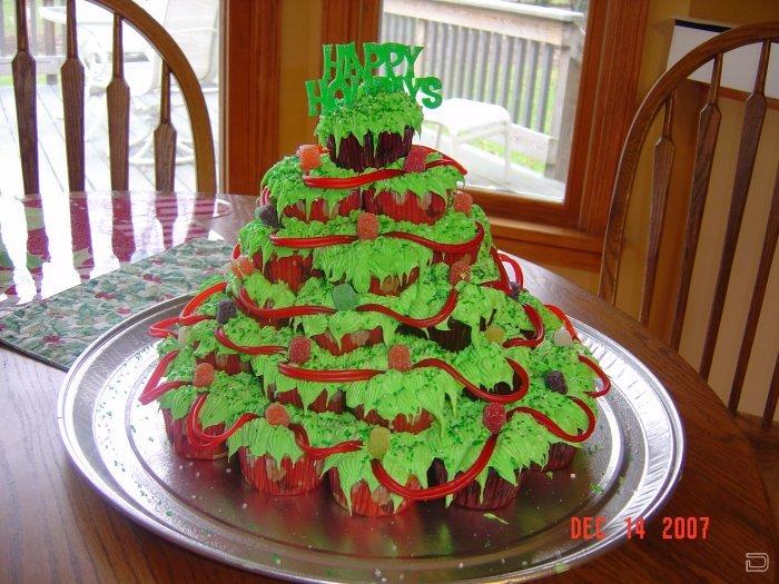 Новогодние торты в домашних условиях фото