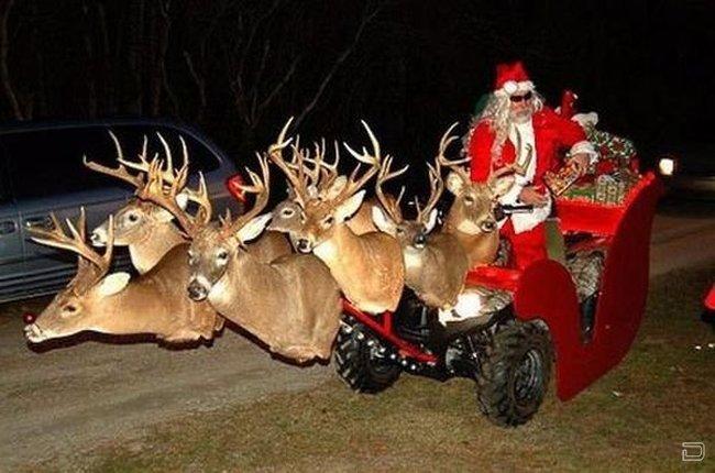 Рождество на селе по американски (35 фото)