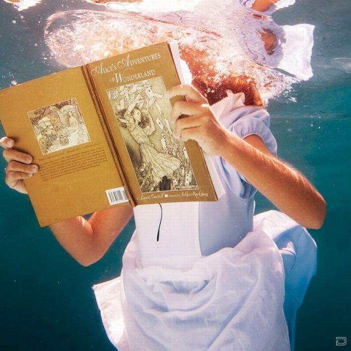Новые приключения Алисы в подводном мире (13 фото)