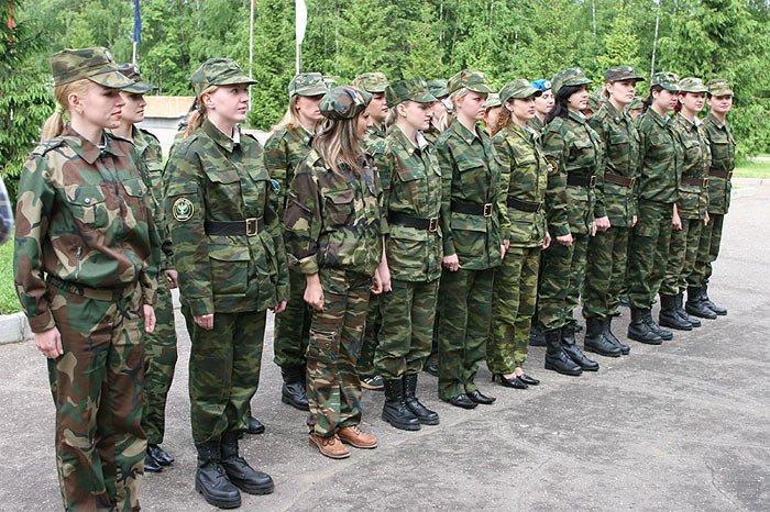 Русская женская армия (8 фото)