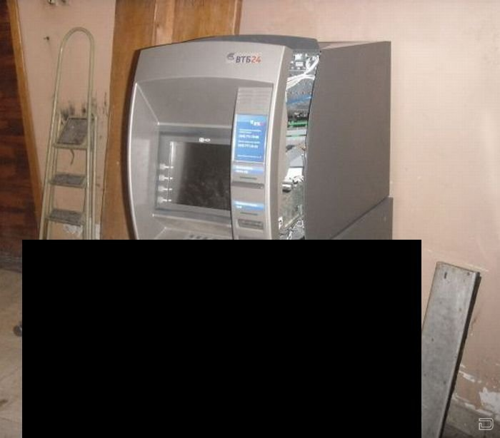 В Москве взломали банкомат банков