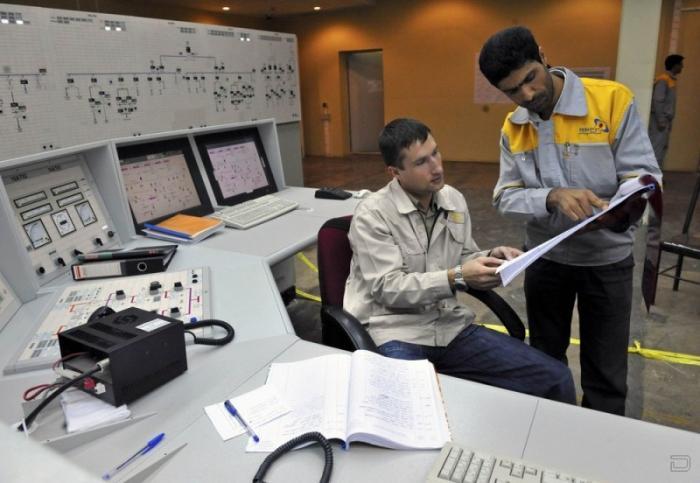 Иранская атомная электростанция - АЭС «Бушер» (12 фото)
