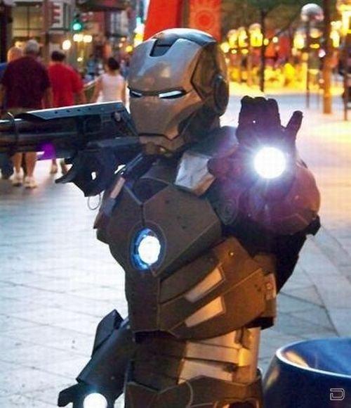 Отличный костюм робота своими руками (35 фото)