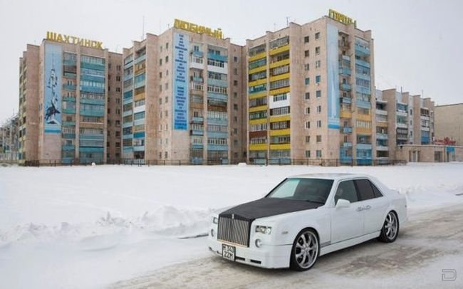 Создал свой собственный «Rolls-Royce Phantom» (13 фото)