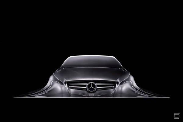Cкульптура автомобиля Mercedes-Benz класса CLK