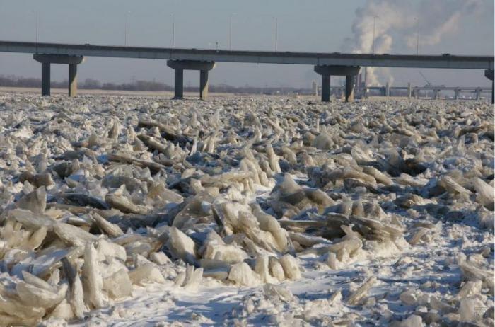 Фотографии замерзшей реки мисисипи
