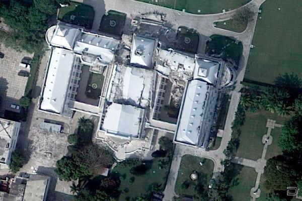Гаити после землетрясения. Фотографии с самолета и со спутника