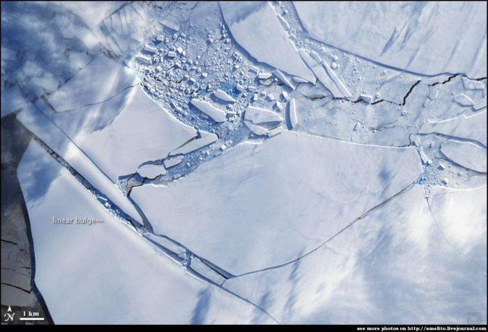 Красивые фотографии заледеневшей земли (14 фото)