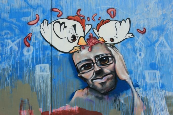 Красивые граффити из Мельбурна (39 фото)
