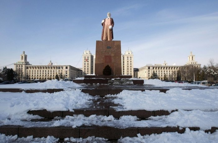 Шоколадный дедушка Ленин (3 фото)