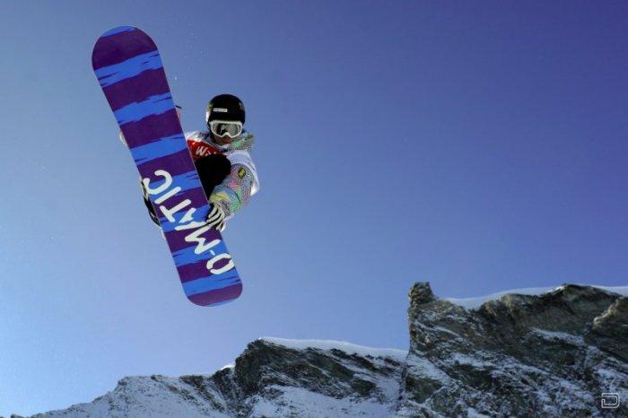 Красивые сноуборд-фото (28 фото)
