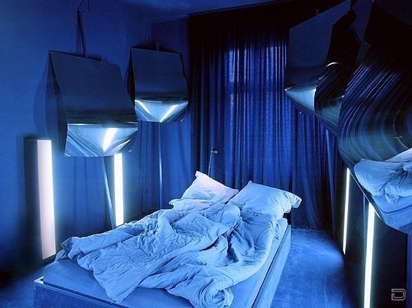 Необычные спальни (16 фото)