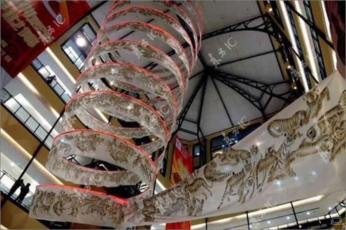 200 метров тигров - самый большой свиток (10 фото)