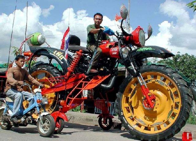 Невероятно огромные мотоциклы