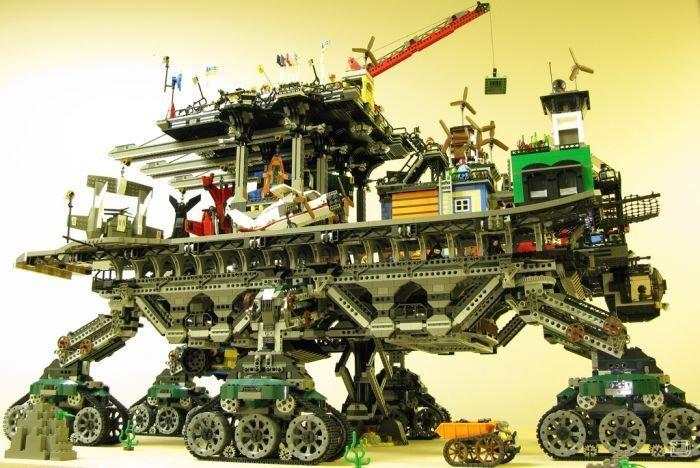 Лего-город на колесах