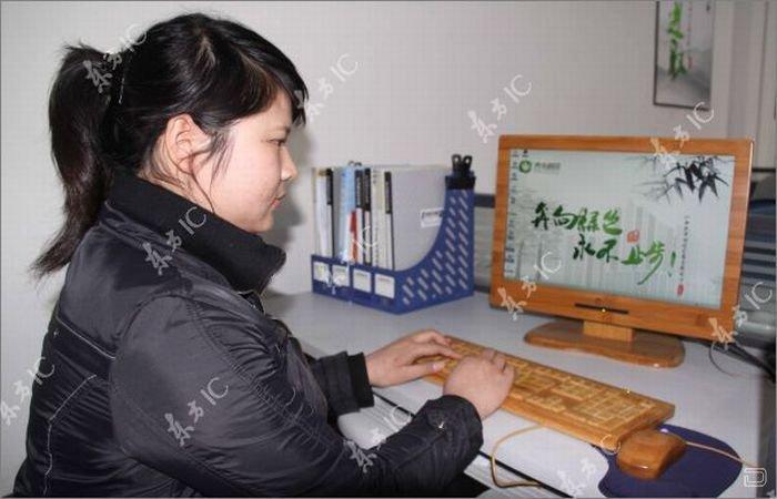 Производство экологичных клавиатуры и мышек из бамбука