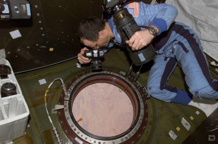 Фотографии с борта Международной космической станции