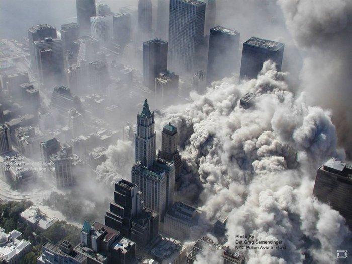 Новые фотографии с места трагедии 11 сентября в США