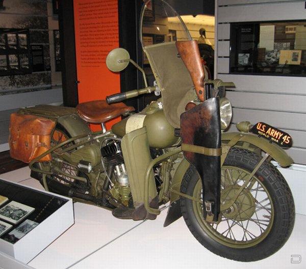 Подборка фотографий мотоциклов времен Второй Мировой