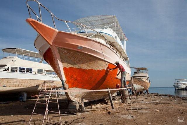 Строительство яхт в Хургаде, Египет