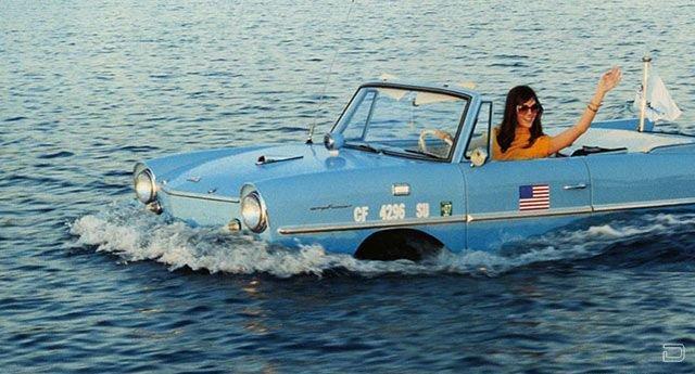 лодки машины плавающие