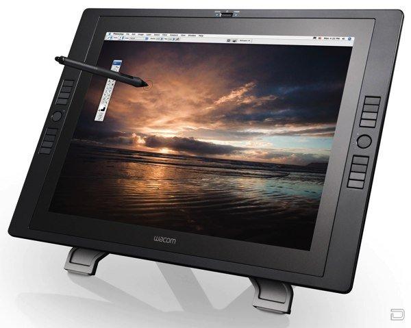 Wacom Cintiq 21UX - планшет для дизайнеров и художников (8 фото)