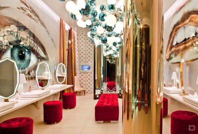 Клуб для богатых Vanity Club в Лас-Вегасе (24 фото)