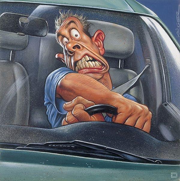 Картинках смешные про водителей