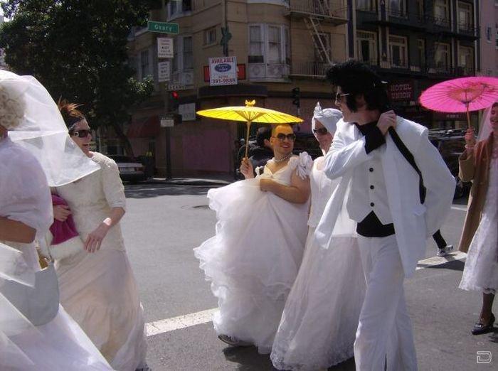 Необычные невесты! (28 фото)