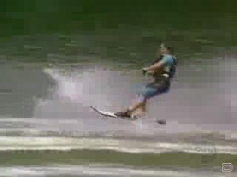 Казусы на водных лыжах
