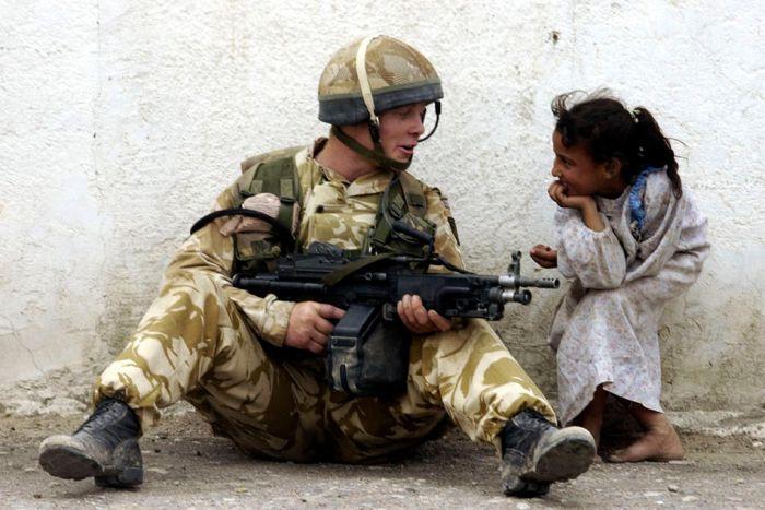 Семь лет жестокой опустошительной войны в Ираке (38 фото)