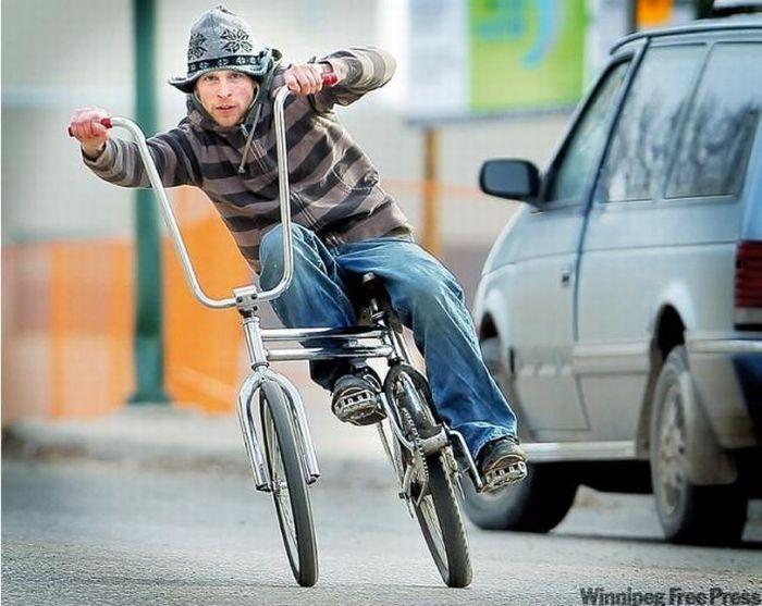 Велосипедист смешная картинка, платон днем рождения
