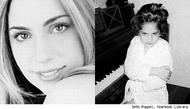 Фотографии молодой Стефани Германотта (Lady GaGa) (43 фото)