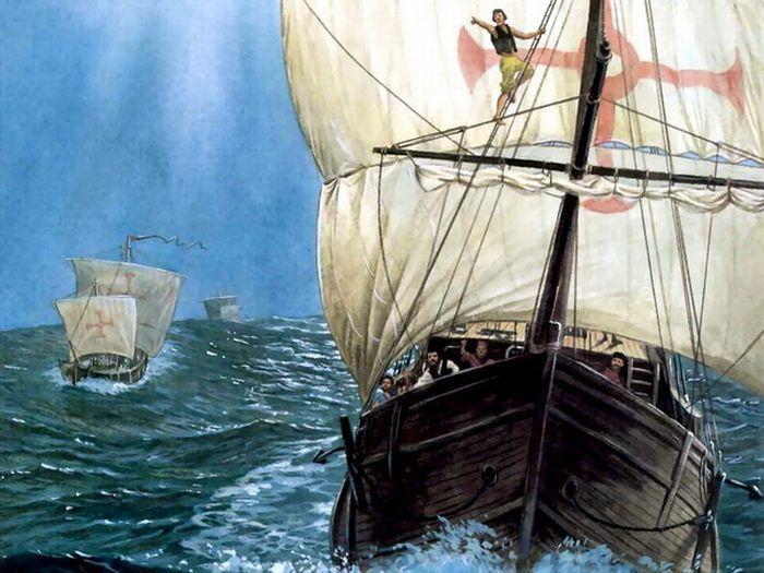 Красивые картинки с изображением кораблей.