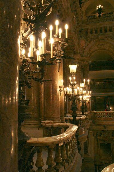Опера Гарнье Париж.