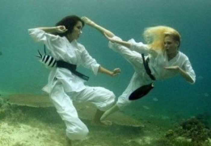 Необычные виды спорта под водой
