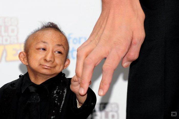 Самый маленький человек в мире китаец Хи Пингпинг умер