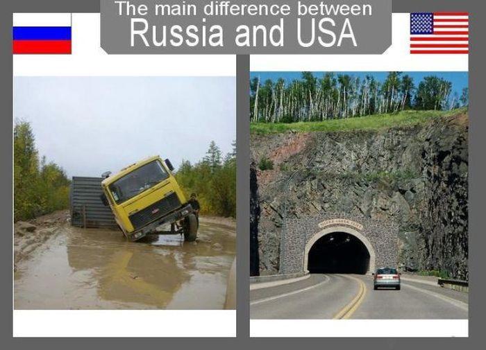 Основные различия между Россией и США (28 фото)