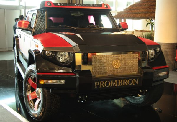 Брутальный SUV Dartz Kombat Prombron Monaco Red Diamond