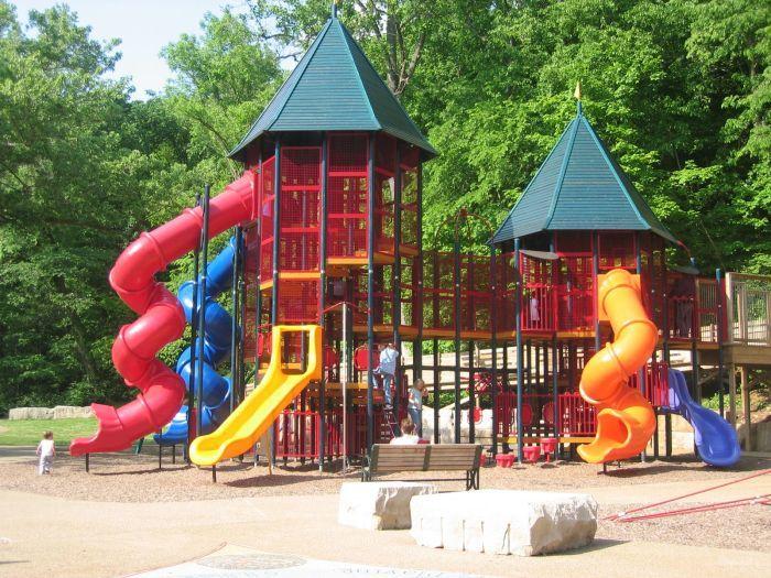 Детские площадки (21 фото)