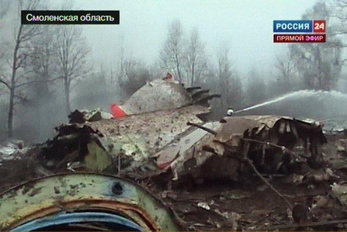 Самолет президента Польши потерпел катастрофу