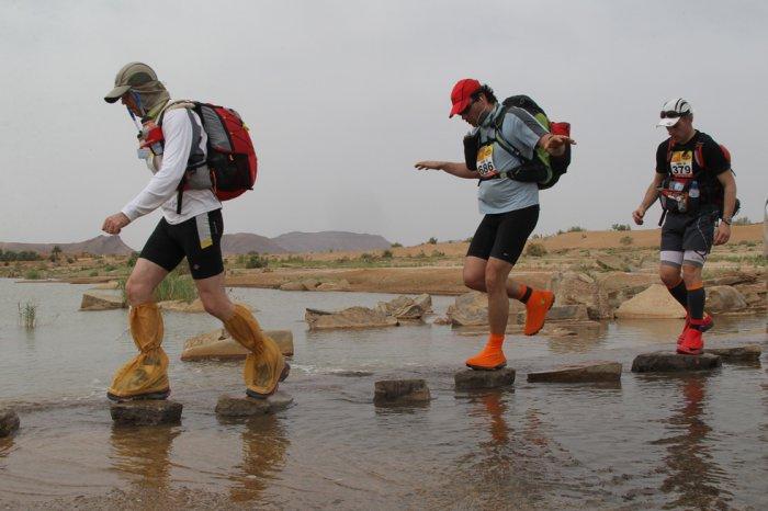 Песчаный марафон на 254 км