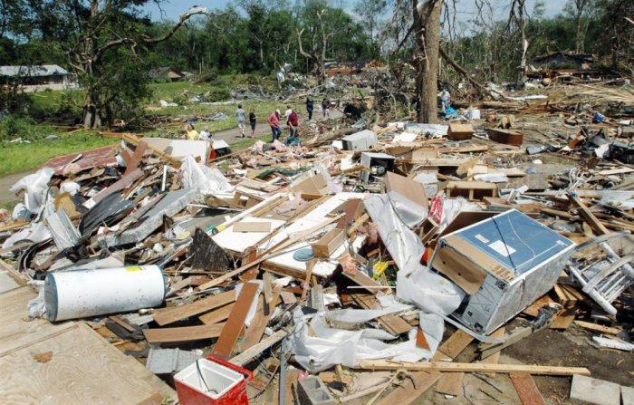 В США прошел смертоносный торнадо
