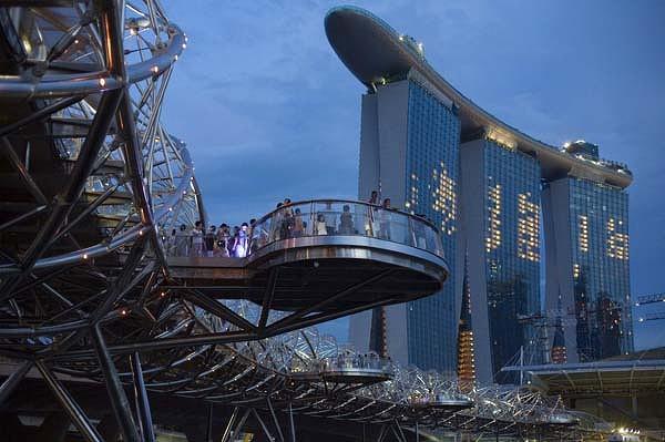 Открылось одно из самых дорогих казино в Сингапуре