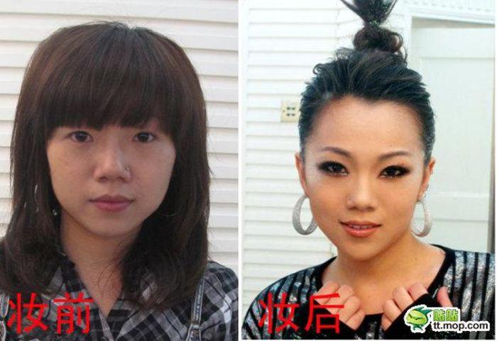 Звезды Китая без грима (10 фото)