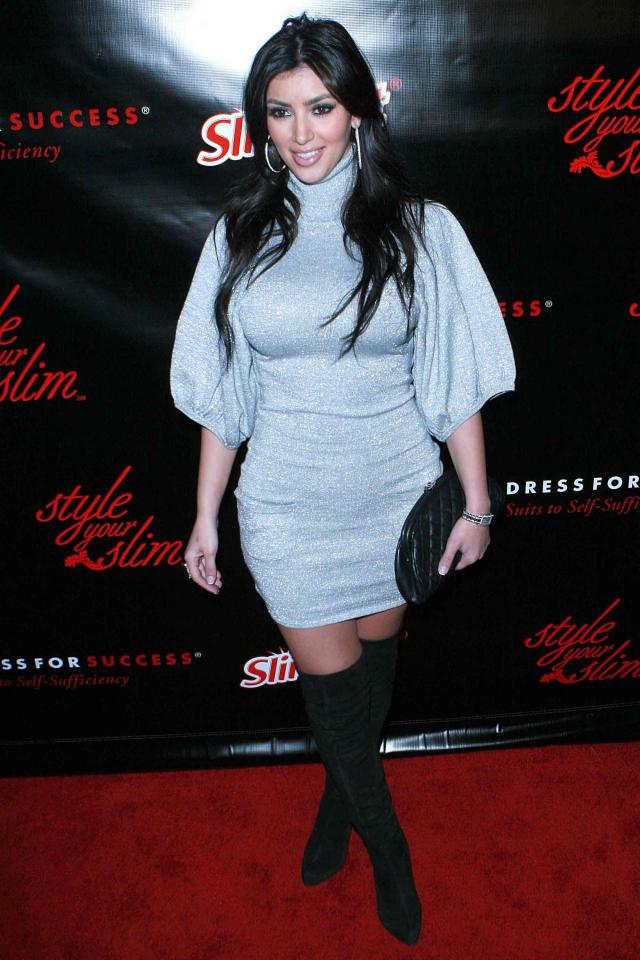 Шикарная Ким Кардашьян (5 фото)
